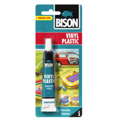 ΚΟΛΛΑ ΑΔΙΑΒΡΟΧΗ VINYL PLASTIC BISON  25ML
