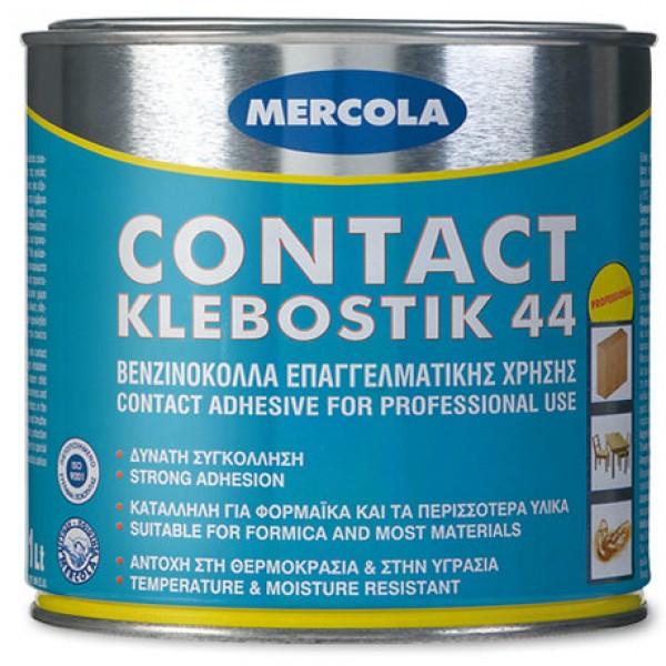 ΚΟΛΛΑ CONTACT KLEBOSTIK 44 ΒΕΝΖΙΝΟΚΟΛΛΑ MERCOLA 1LT