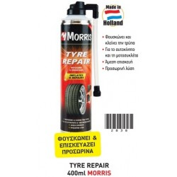 MORRIS SPRAY (ΣΠΡΕΥ) TYRE REPAIR 400ML